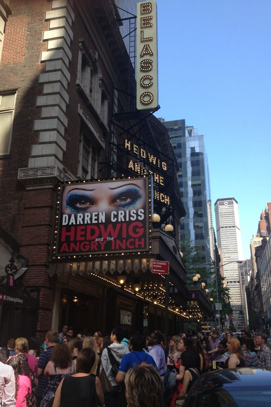 Belasco. Hedwig and the Angry Inch. July 2015