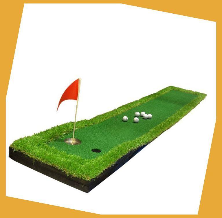 50x300cm Mini Backyard Golf Putting Green Indoor Golf Training Practice Hitting Mat Simulatio Backyard Putting Green Outdoor Putting Green Golf Putting Green