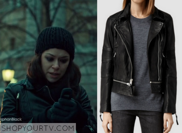 Orphan Black: Season 3 Episode 9 Sarah's Leather Jacket ...