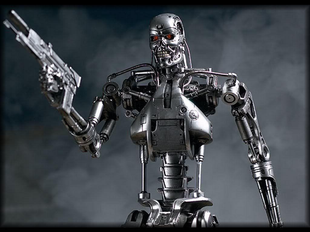фото терминатор робот