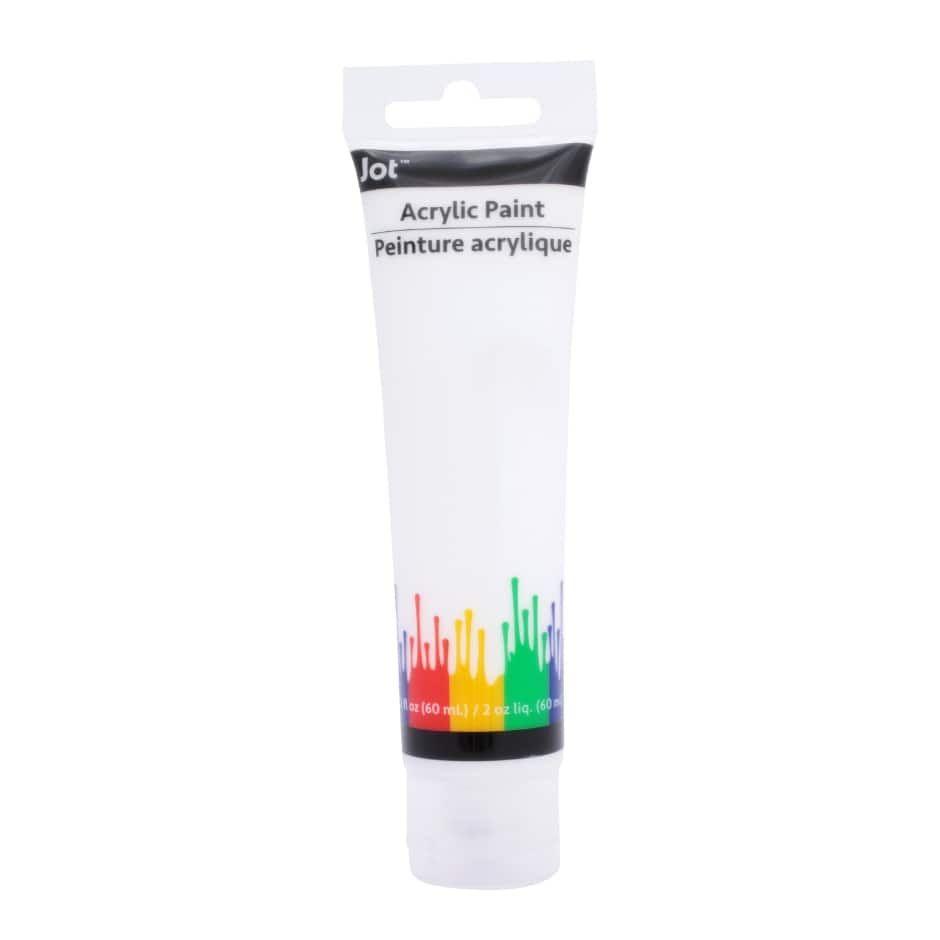 Jot White Acrylic Paints 1 5 Fl Oz Tubes 2019 Derby