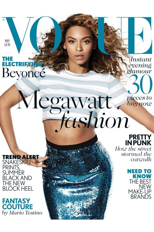 Beyoncé On The Cover Of Vogue UK: 4 Interesting Quotes