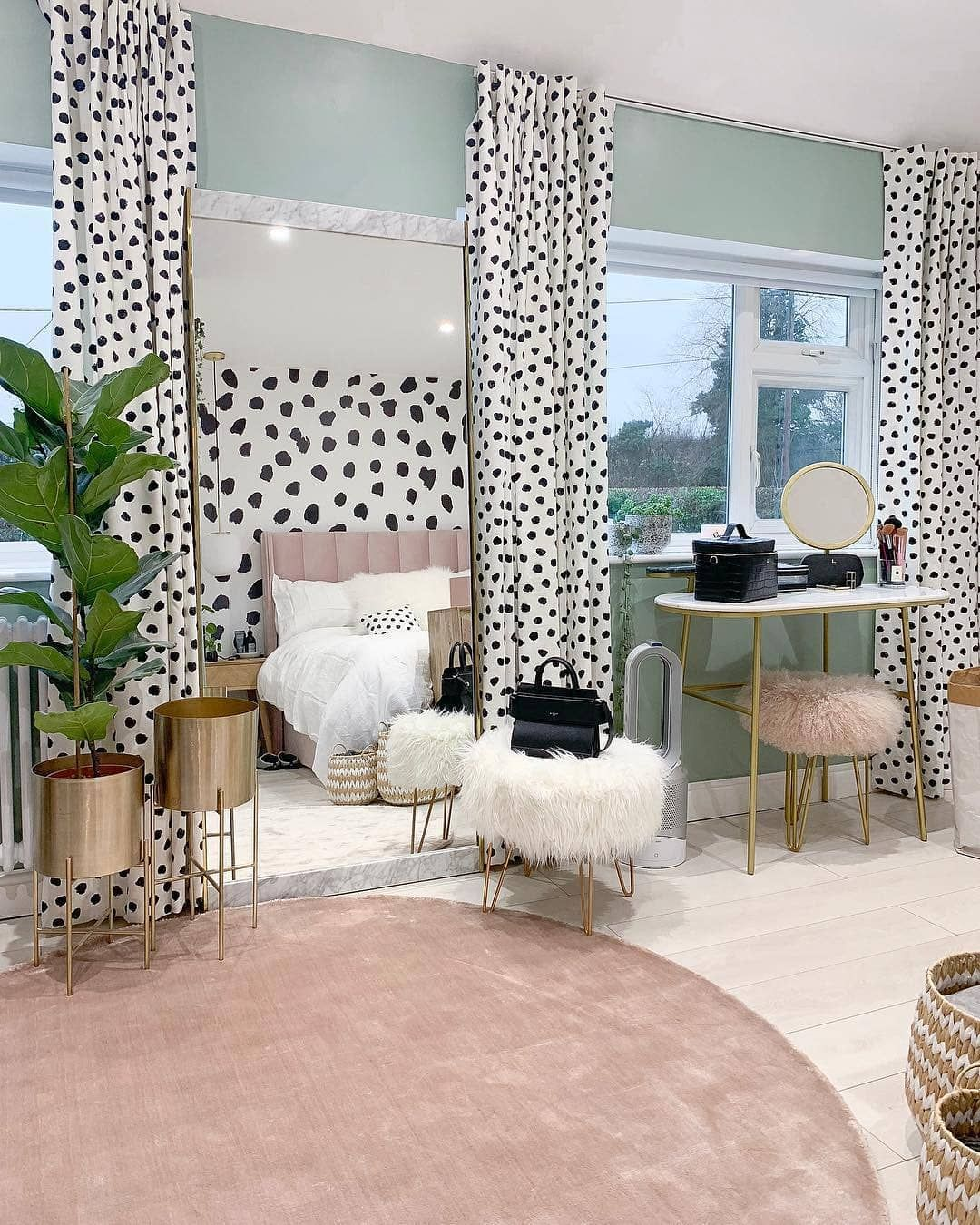 West Elm Uk On Instagram If You Re Partial To A Dalmatian Print Then Lustliving S Bedroom Makeover Is The One F Bedroom Makeover Cheap Home Decor Home Decor,Subway Tile Backsplash Ideas For Granite Countertops
