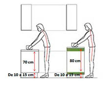 Resultado de imagen para mobiliario escolar dise o medidas for Mobiliario escolar medidas