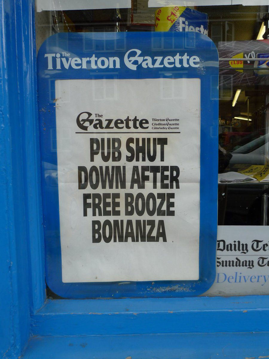#newspaper #fonts My 2 fave #local news stories (with a nod to #icecream )  via…