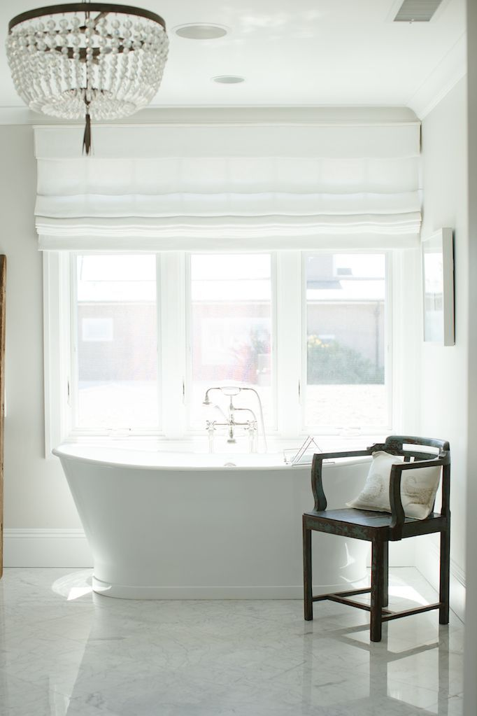 BECKI OWENS - 7 Elements of a Timeless Bathroom. Tips+Get the Look today on the blog.