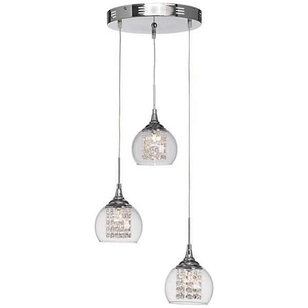 Possini Euro Halogen 3 In 1 Pendant