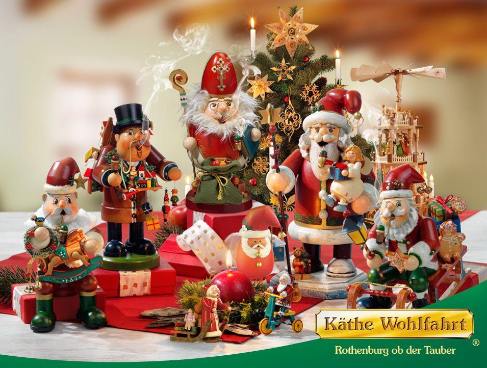 6498398cc6b3c9 Weihnachtsartikel kaufen - Traditioneller deutscher Weihnachtsschmuck aus  dem Hause Käthe Wohlfahrt