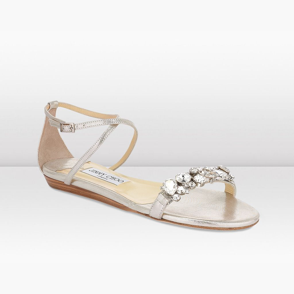 Jimmy Choo beach wedding sandal. I love