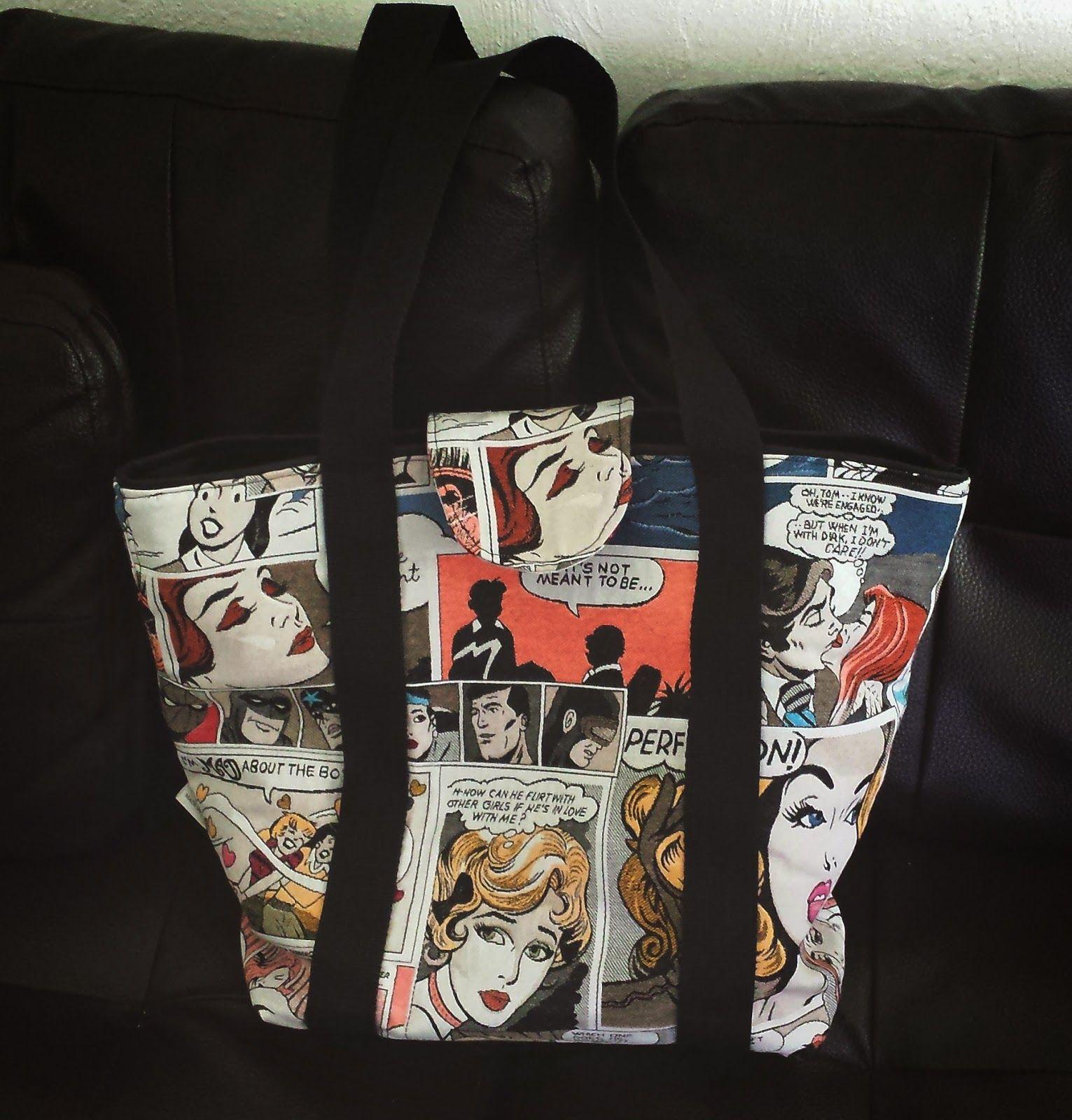 My vintage comic bag