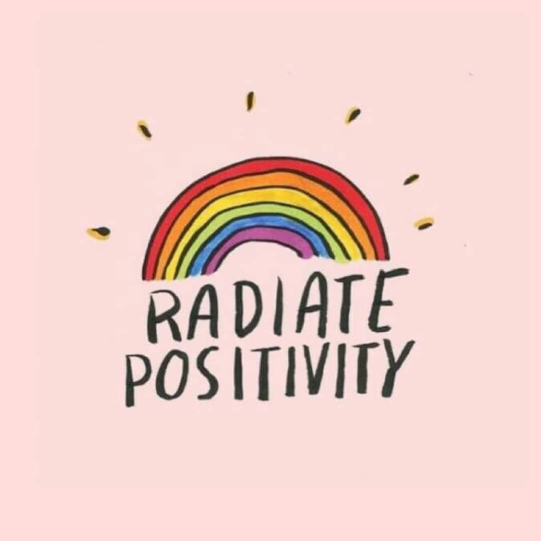 Positive vibes 🌞🌈....#quotes #pinterest #saltmag ...