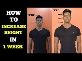 Height Increase Exercises - How To Get Longer Legs & Grow Taller Faster -…