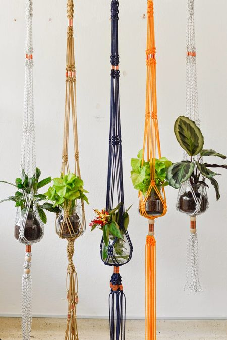 Tapices de color macrame pinterest hanger crafty and crochet - Tapices de macrame ...