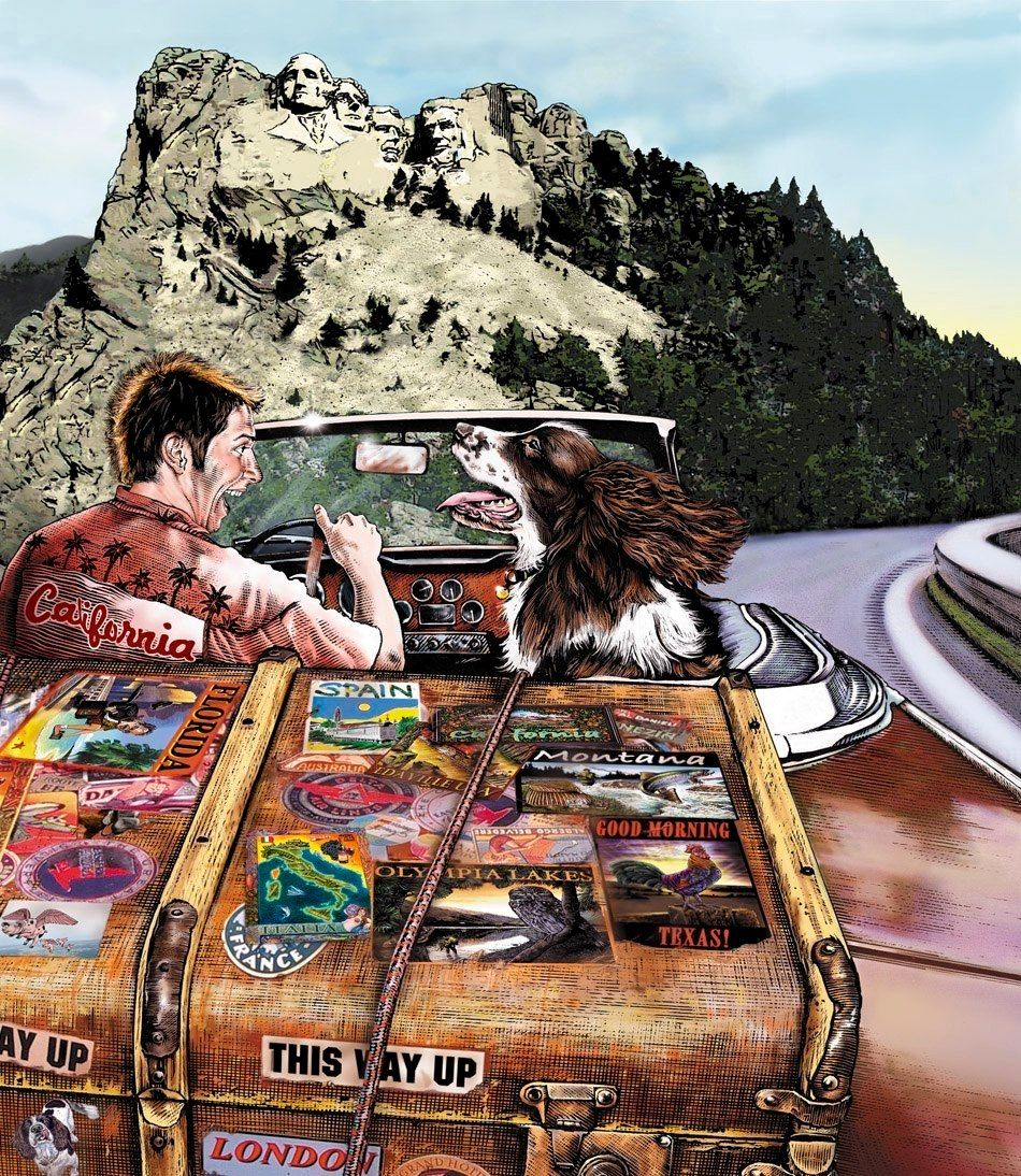 Travelling From Nice To Toulouse Roadtrip: Road Trip With A Pal ~ By Jerry Hoare