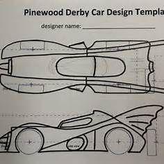 Batman Pinewood Derby Car Templates Batmab Pinterest Pinewood