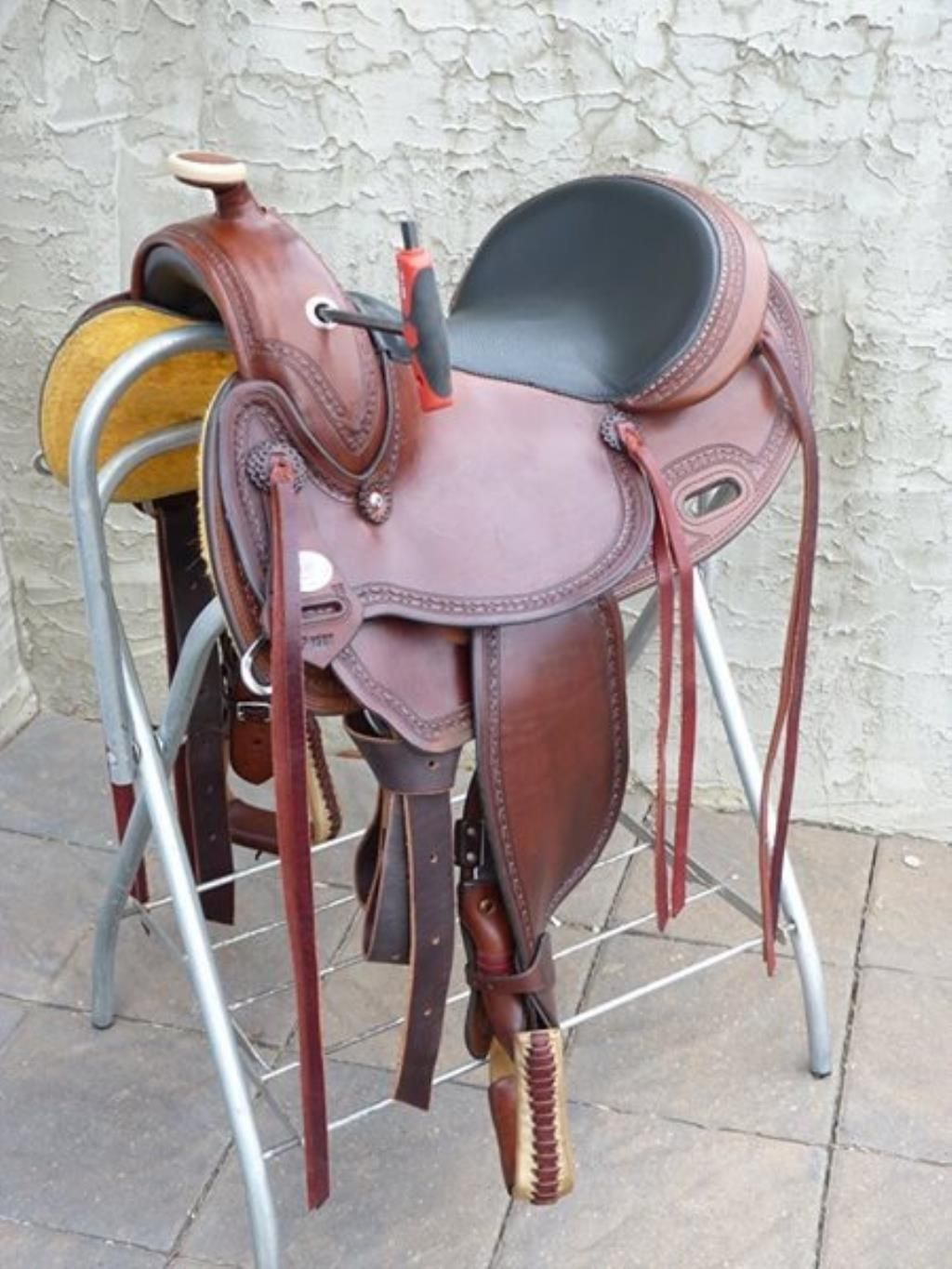 DP SADDLERY ADJUSTABLE GULLET WESTERN SADDLE FOR SALE IN