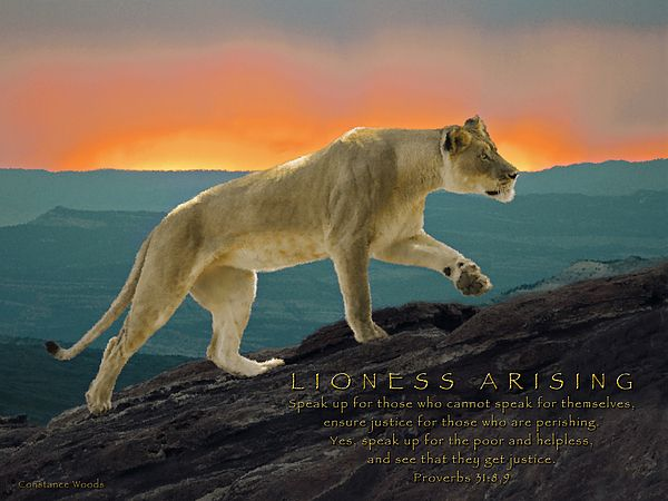 Lioness Arising | Inspire the artist with in me | Prophetic