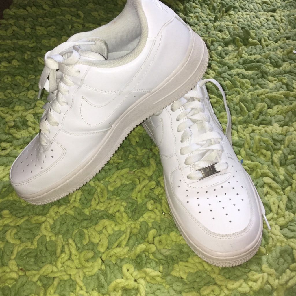 free shipping 73c56 01630 Nike Af1s Low Tops | Shoes | Sneakers nike, Nike, White nikes