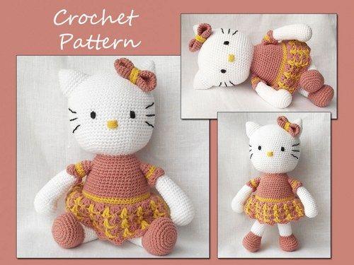 Amigurumi Patterns Sanrio Free : Hello kitty amigurumi crochet pattern crochet eug