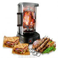 NutriChef PKRT97 - Multi-Function Vertical Oven - Countertop Rotisserie Oven with Bake & Roast Cooking - Walmart.com