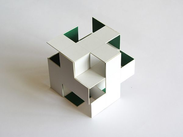 Cube architecture model google search pattern graphic educational pinterest cube google - Small spaces architecture model ...