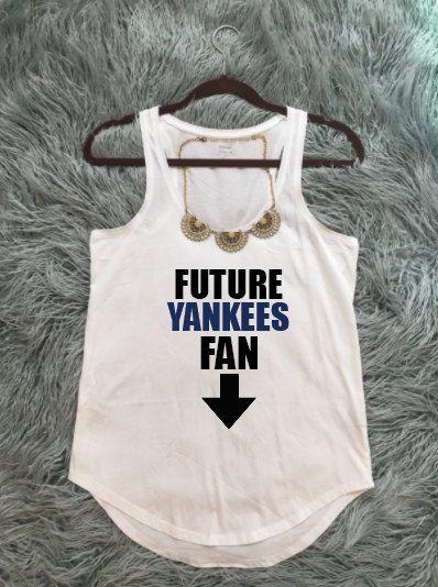 623b0b8a86c8b FUTURE YANKEES FAN, Yankees Baseball, Yankees Maternity, Pregnant Yankees  Fan, New York Yankees T-Shirt, ny yankees, yankees baseball, mob by  KyCaliDesign ...