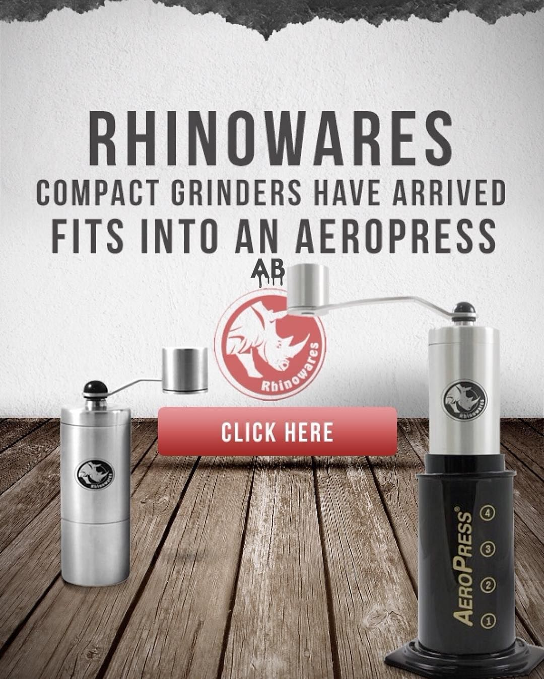 Rhinowares Compact Grinder now in stock at @alternativebrewing online Store! Shop Online at: @alternativebrewing - link in bio #AlternativeBrewing & TAG us to be featured by originalaeropress