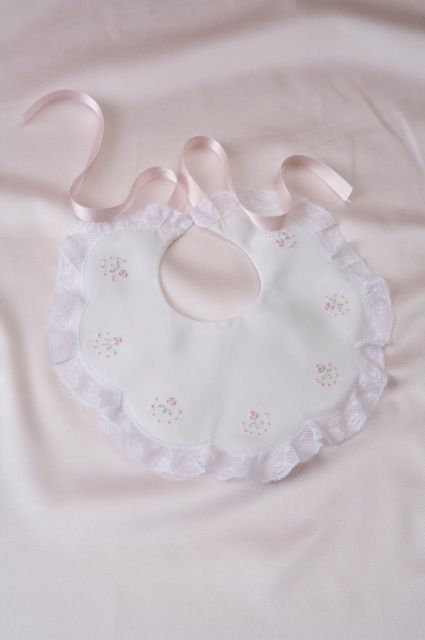 Heirloom sewing - bib