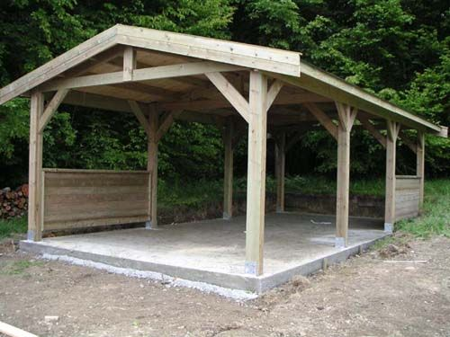 Carport Timber Gable