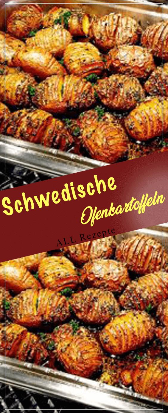 Schwedische Ofenkartoffeln #onepandinnerschicken
