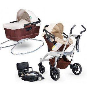 Orbit Baby Stroller Travel System G2 with Bassinet Cradle G2 Mocha Khaki  :) all mine