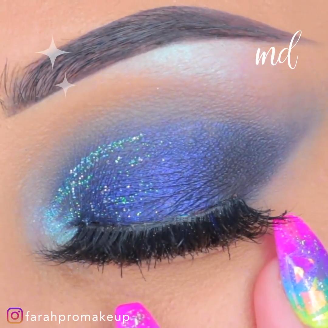 glitter makeup eyeshadow