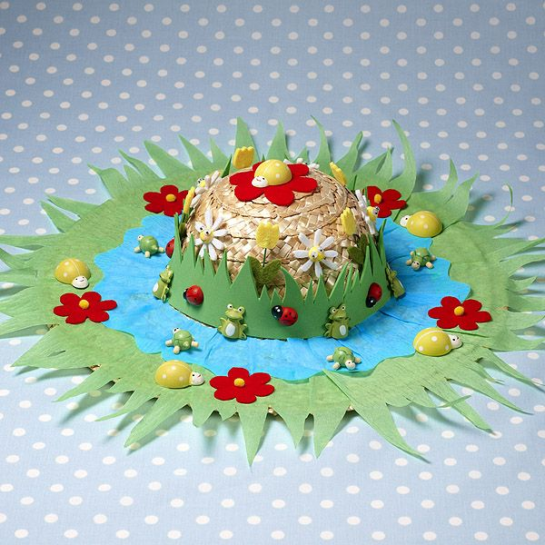Hobby Craft Ideas Kids Part - 49: Spring Garden Bonnet   Craft Ideas U0026 Inspirational Projects   Hobbycraft