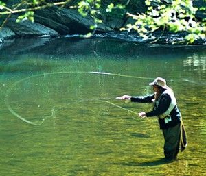 Fishing at Fairmont Park