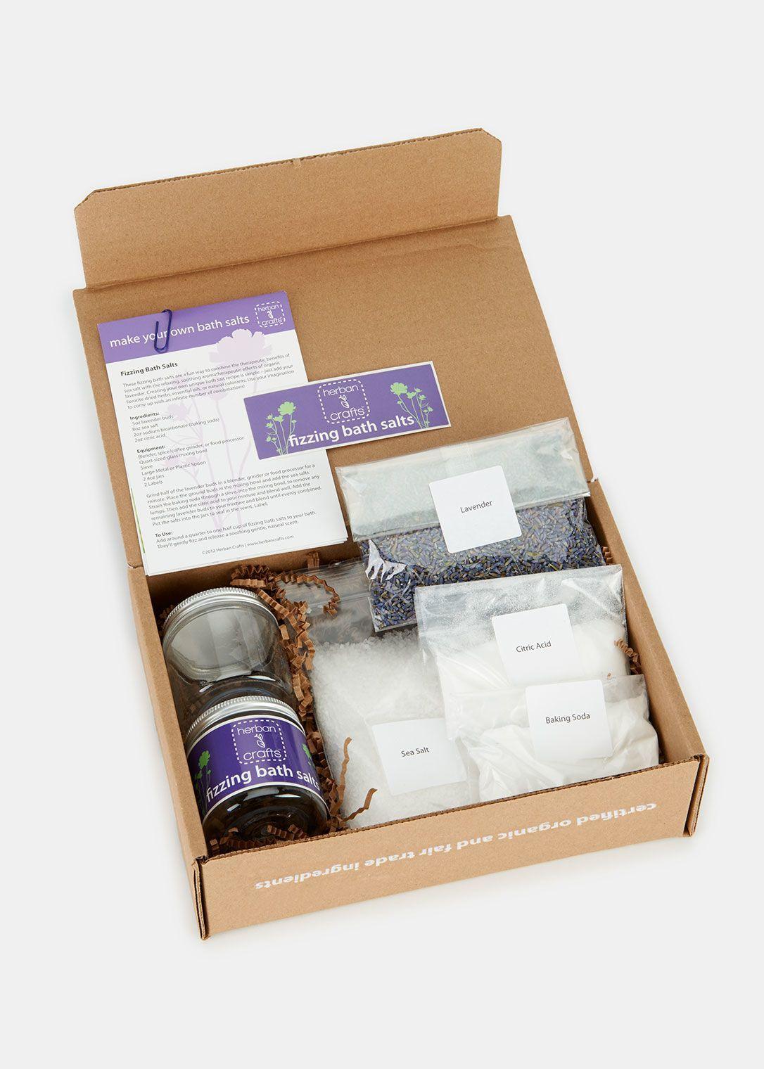 Diy make your own bath salts kit rodales bath salts