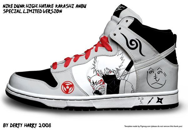 Nike Dunk High: Kakashi ANBU