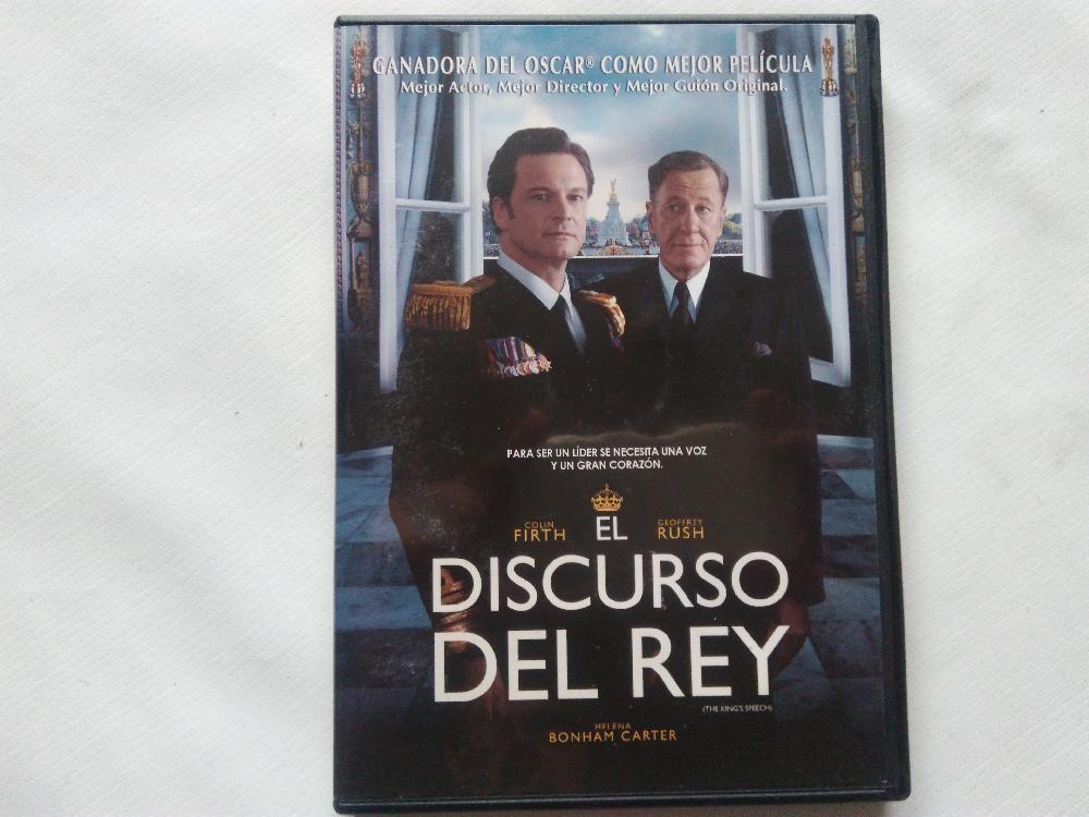 Dvd El Discurso Del Rey El Discurso Del Rey Dvd Discursos