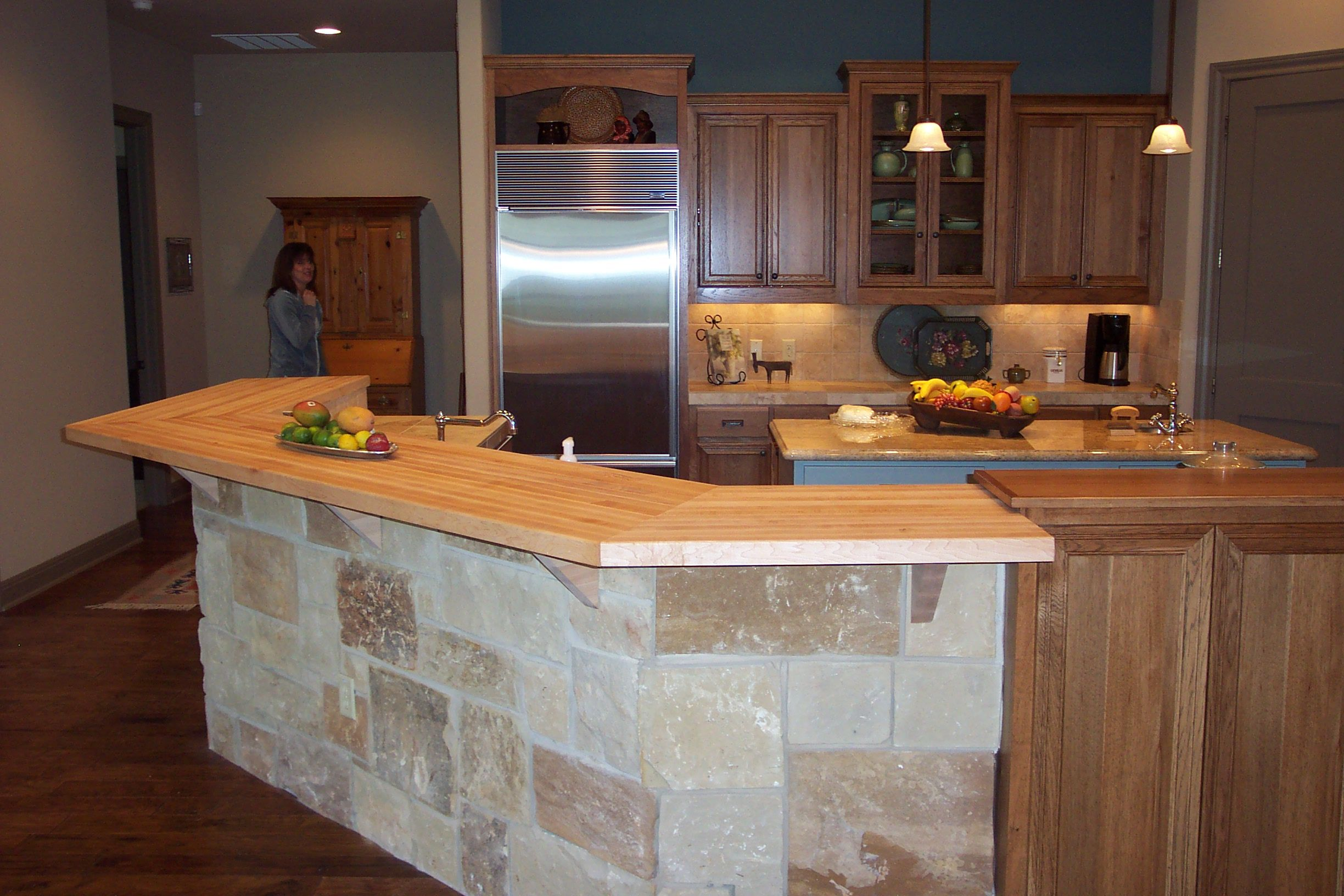 Merveilleux Maple Bar Top Can Be A Beautiful Addition To Any Home.