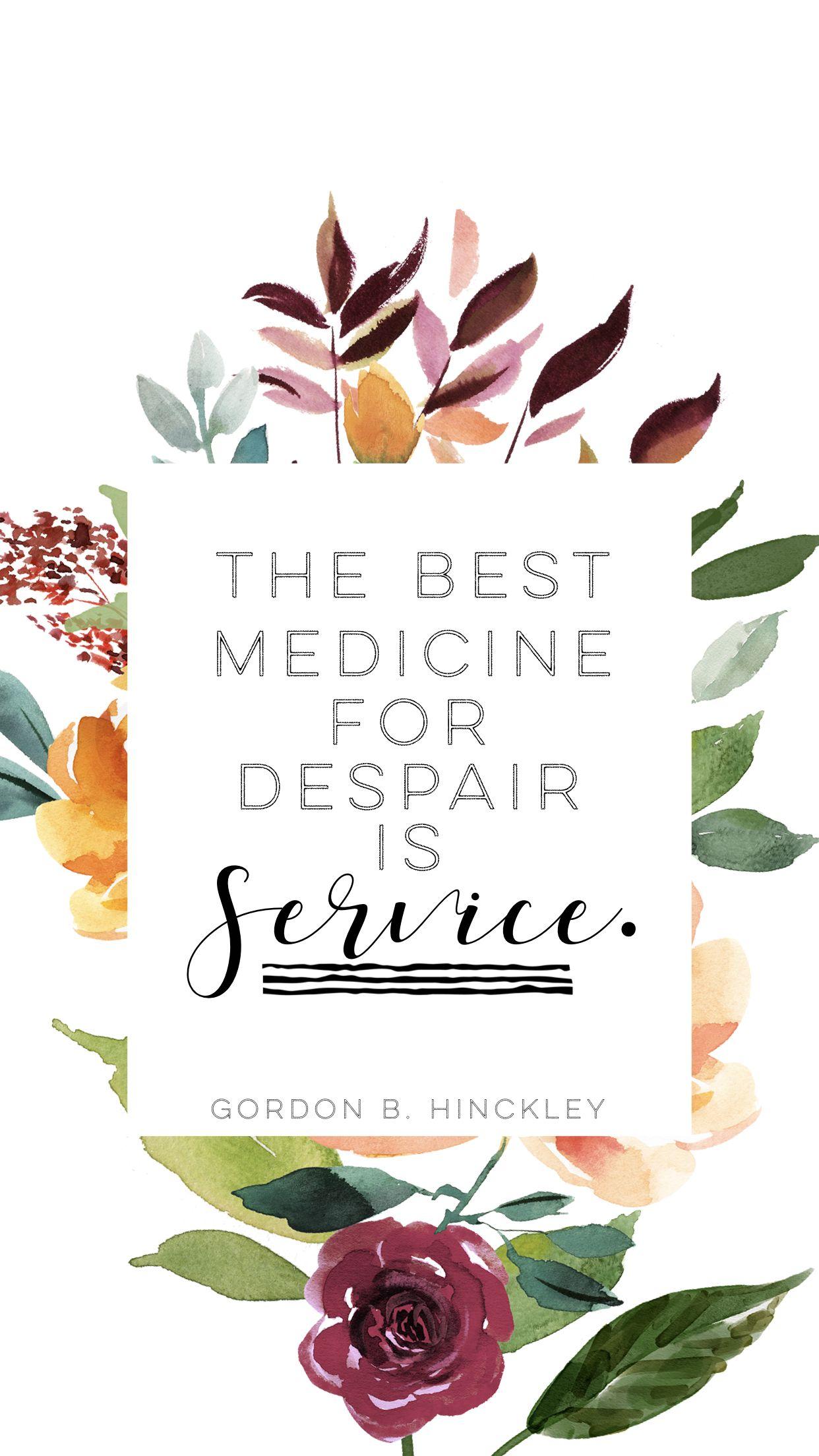 lds #quotes #service | inspiration | i am mormon | Pinterest