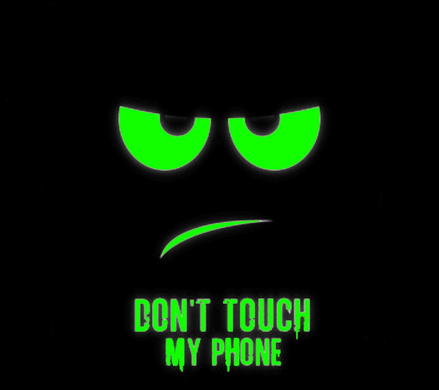 Green screen saver (With images) | Dont touch my phone ...