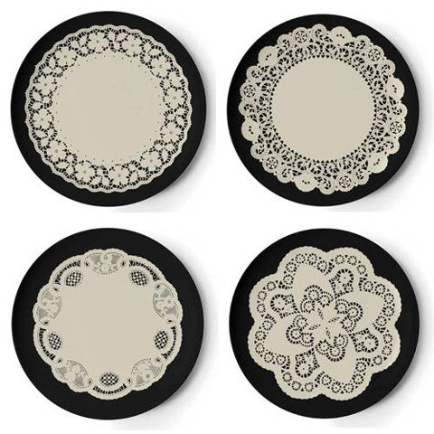 Gothic Dinner Plate Set  sc 1 st  Pinterest & Gothic Dinner Plate Set | H for Halloween. | Pinterest | Dinner ...