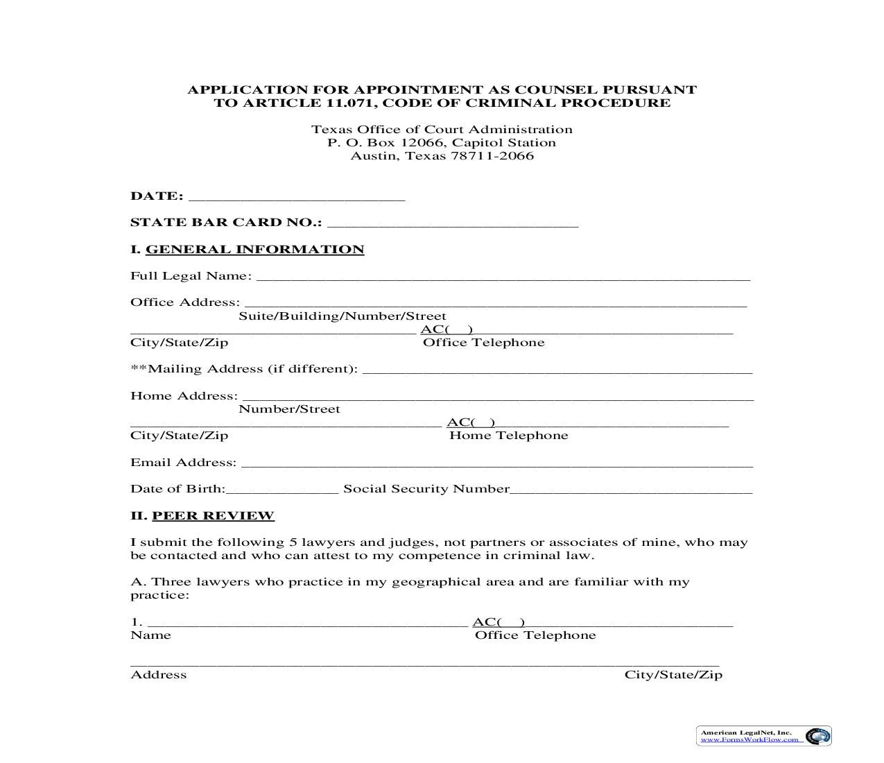 This Is A Texas Form That Can Be Used For Court Of