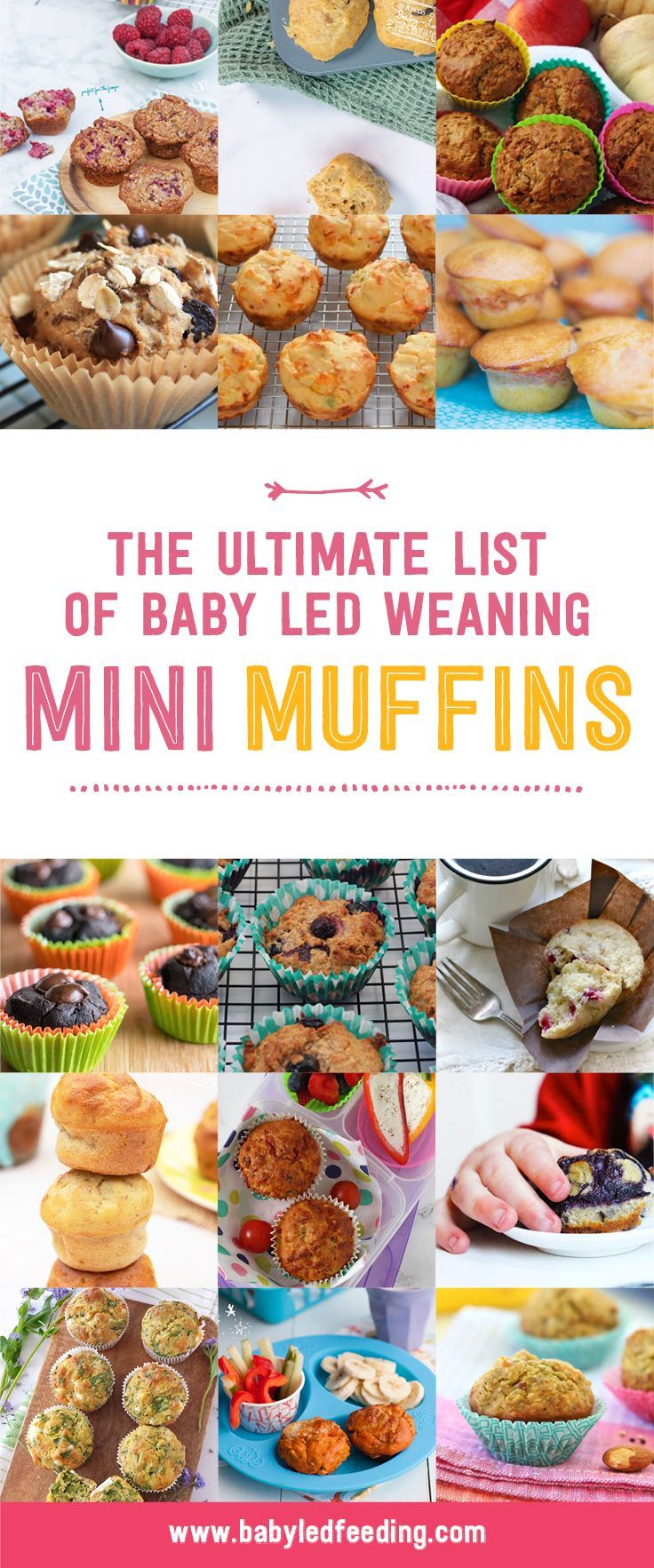 Photo of Ultimate list of Mini Muffins! 25+ Healthy muffin recipes
