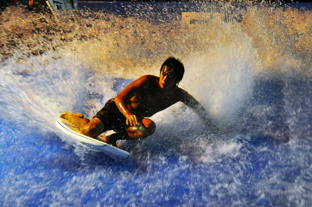 Surf on the stylish FlowRider surf machine! Coming soon to ...