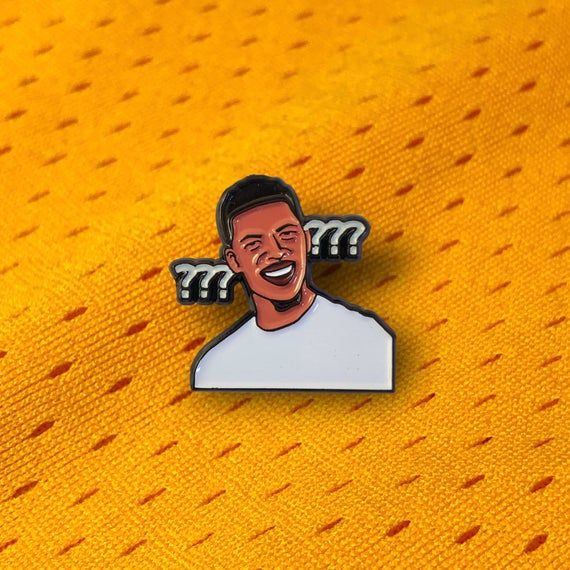 Confused Nick Young 1 Enamel Pin Swaggy P Nba Basketball Meme Pin Cute Pins Pin Collection Cool Pins
