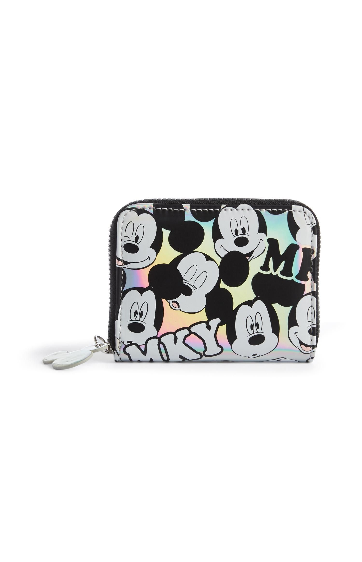 Mickey Mouse Holographic Silver Purse Mickey mouse purse