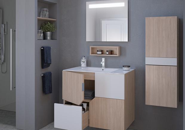 meuble salle de bain kubik
