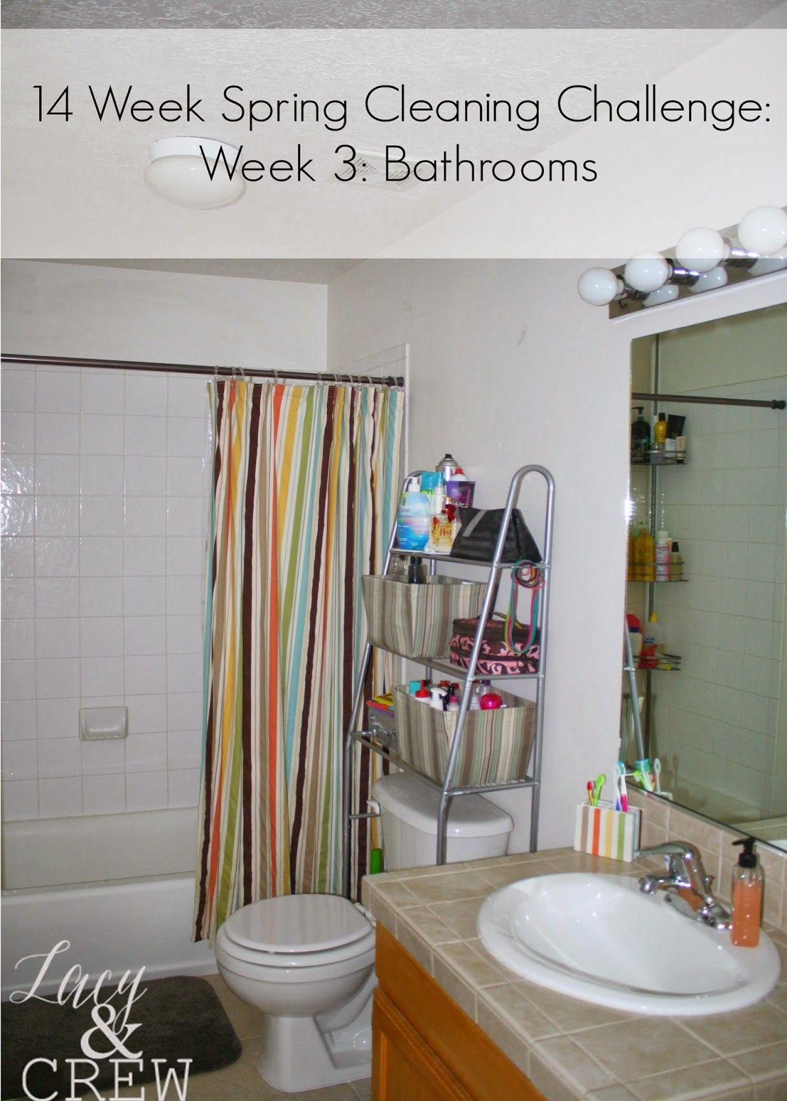 Spring Cleaning Bathrooms 14 Week Spring Cleaning Challenge
