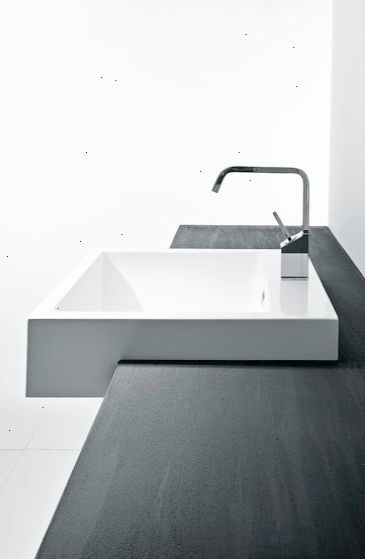 Minimalist Bathroom Modern White Vanity Sink And Wood