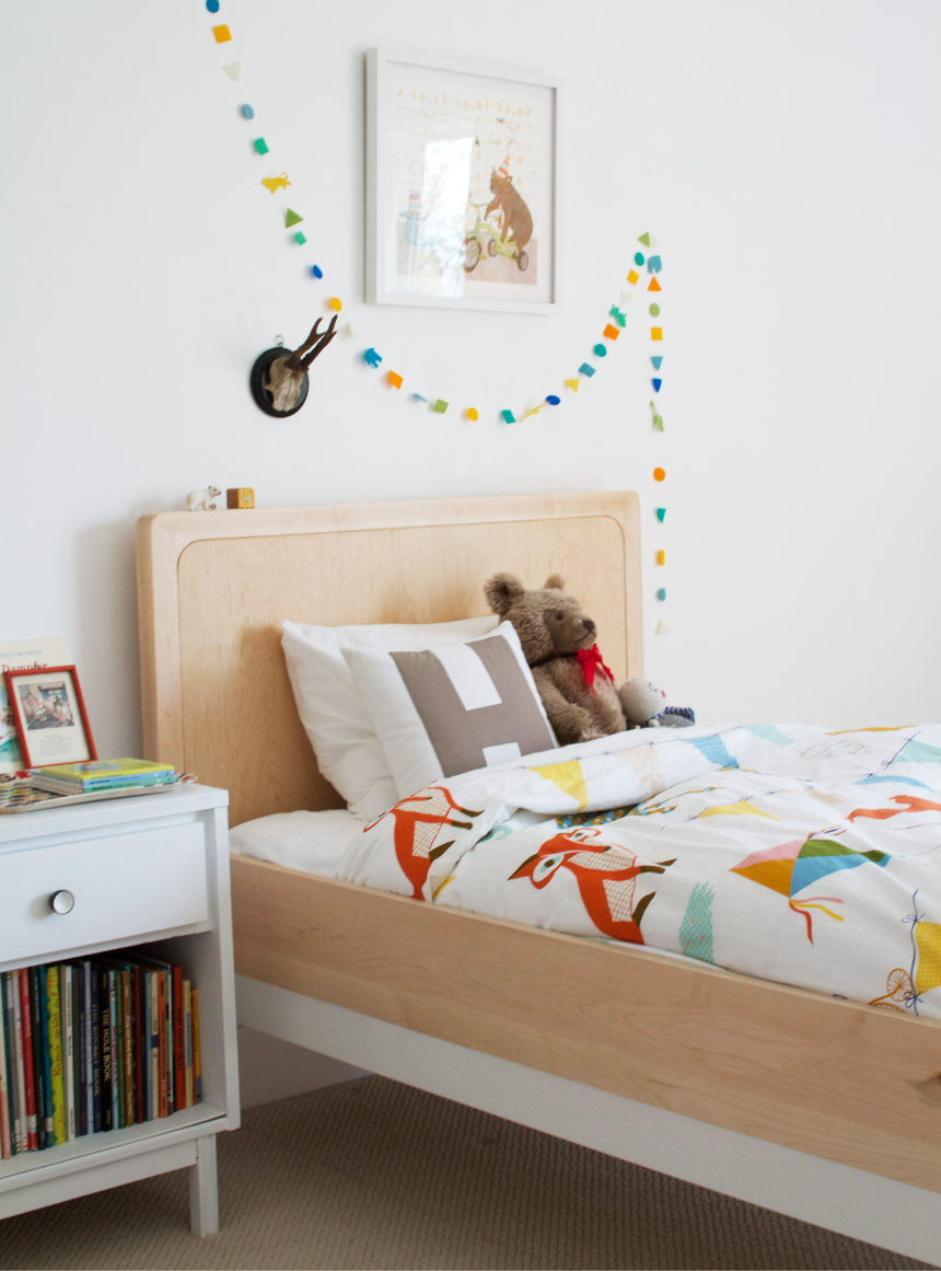 Henrik 39 s bright colorful abode kids room tour for Bedroom design apartment therapy